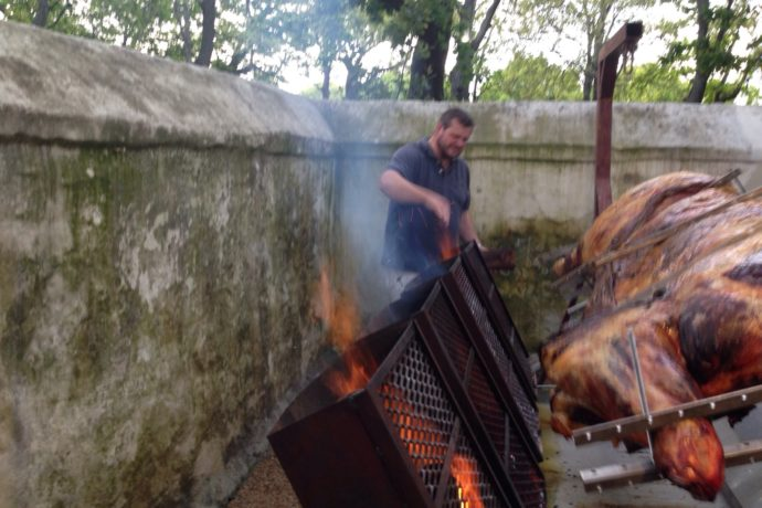 The taste of terroir this weekend. An ox braai at Spier on the 31st.