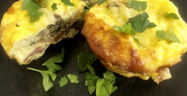 Cooking with PJ Vadas: Bacon and Eggs Pesto Cups