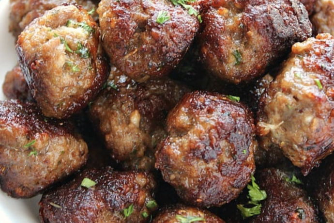 Cooking with PJ Vadas: Farmer Angus Beef Meatballs