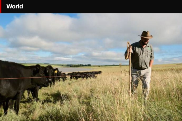A big friend – Danie Slabbert – Regenerative agriculture champion